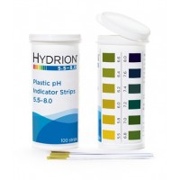 Spectral 5.5-8.0 Plastic pH Strip - Hydrion 9700